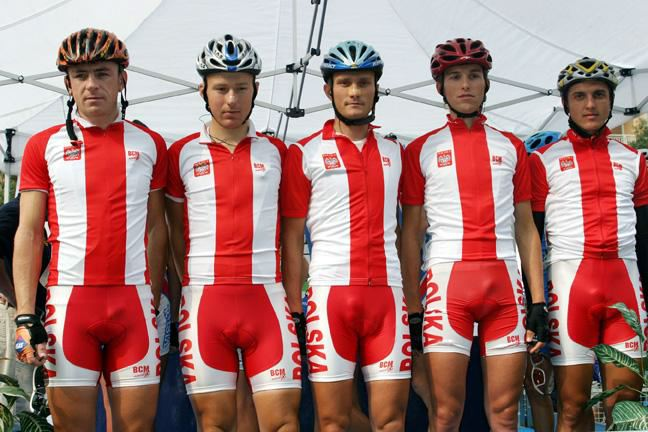 Men in Bicycle Shorts